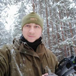 Maksim Belotsky during fieldwork. © Maksim Belotsky